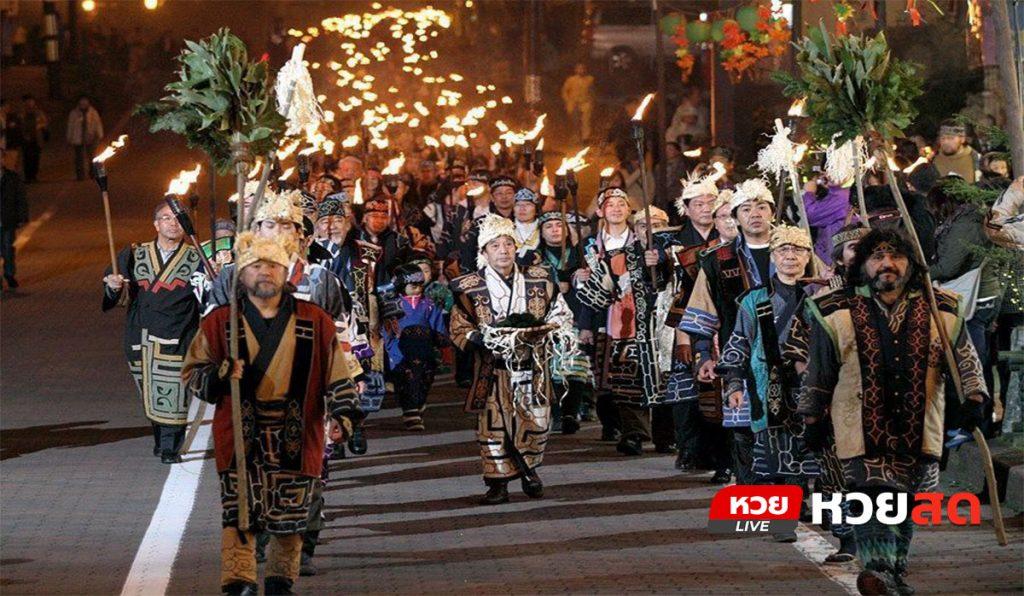 เทศกาลมะริโมะ พิธีกรรมเก่าแก่แห่งท้องทะเล